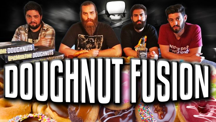 Doughnut Fusion - Epic Meal Time