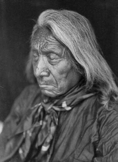 Mahpiya Luta (aka Scarlet Colored Cloud, aka Red Cloud), the son of Lone Man and Walks As She Thinks, and the husband of Mary Good Road-Red Cloud - Oglala - 1905༺ ♠ ༻*ŦƶȠ*༺ ♠ ༻