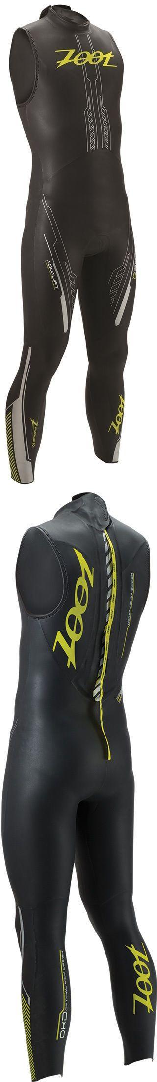 Triathlon 2918: New Zoot Z Force 1.0 Sl Wetzoot - Men S Triathlon Wetsuit - Black Flash -> BUY IT NOW ONLY: $129.99 on eBay!