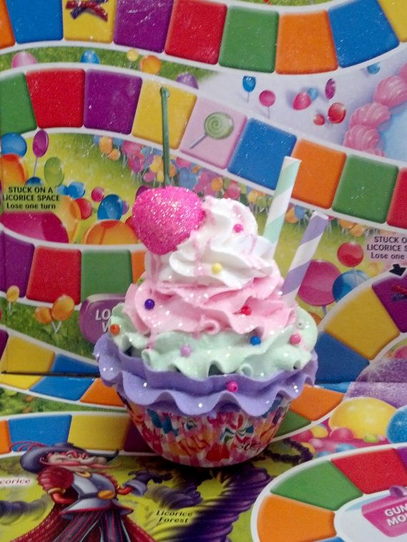 Candyland inspired Fake Cupcake Christmas by FakeCupcakeCreations, $10.00