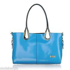 Blue serenade handbag