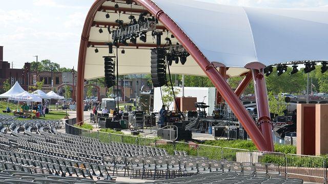Mcgrath Amphitheater Cedar Rapids Mcgrath Amphitheater Cedar