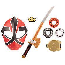 Power Rangers Training Gear Set - Red Ranger