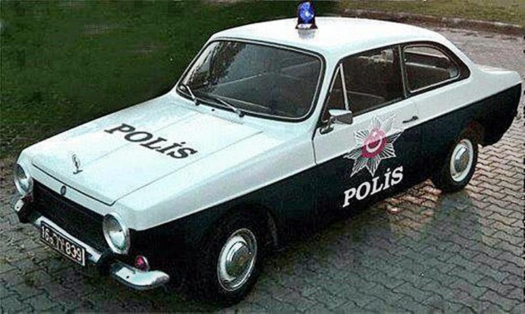 1971 Anadol, Police car - Turkey