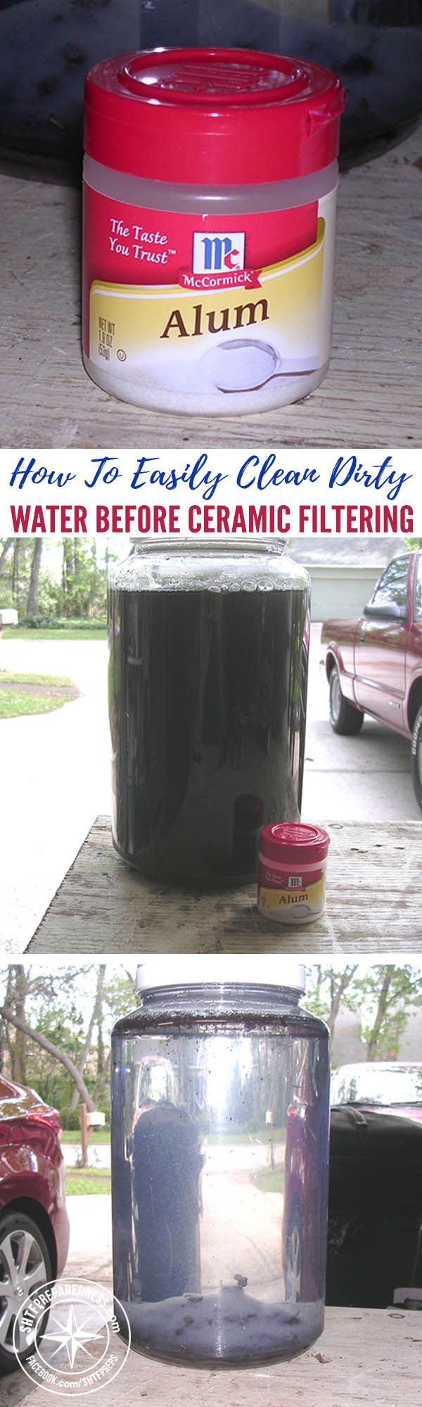 How To Easily Clean Dirty Water Before Ceramic Filtering — When you're in a survival situation, water supply is crucial since we can't live very long without it. There are some portable filters you can use in this situation, but not all of them are suitable for large quantities of water.