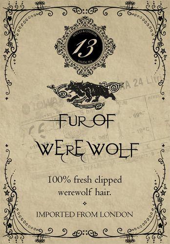 potion label: Vintage Halloween, Bottle Labels, Halloween Parties Decor, Halloween Labels, Free Halloween, Halloween Printable, Halloween Potions, Potions Labels, Werewolf Fur