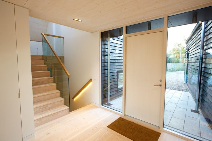 Best The Douglas Fir Flooring In The Entrance Hall And Stair 400 x 300
