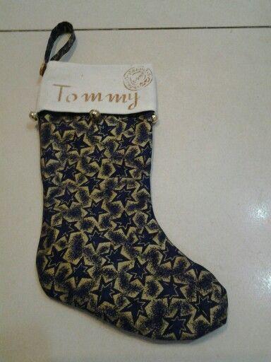 Christmas sock for a little boy