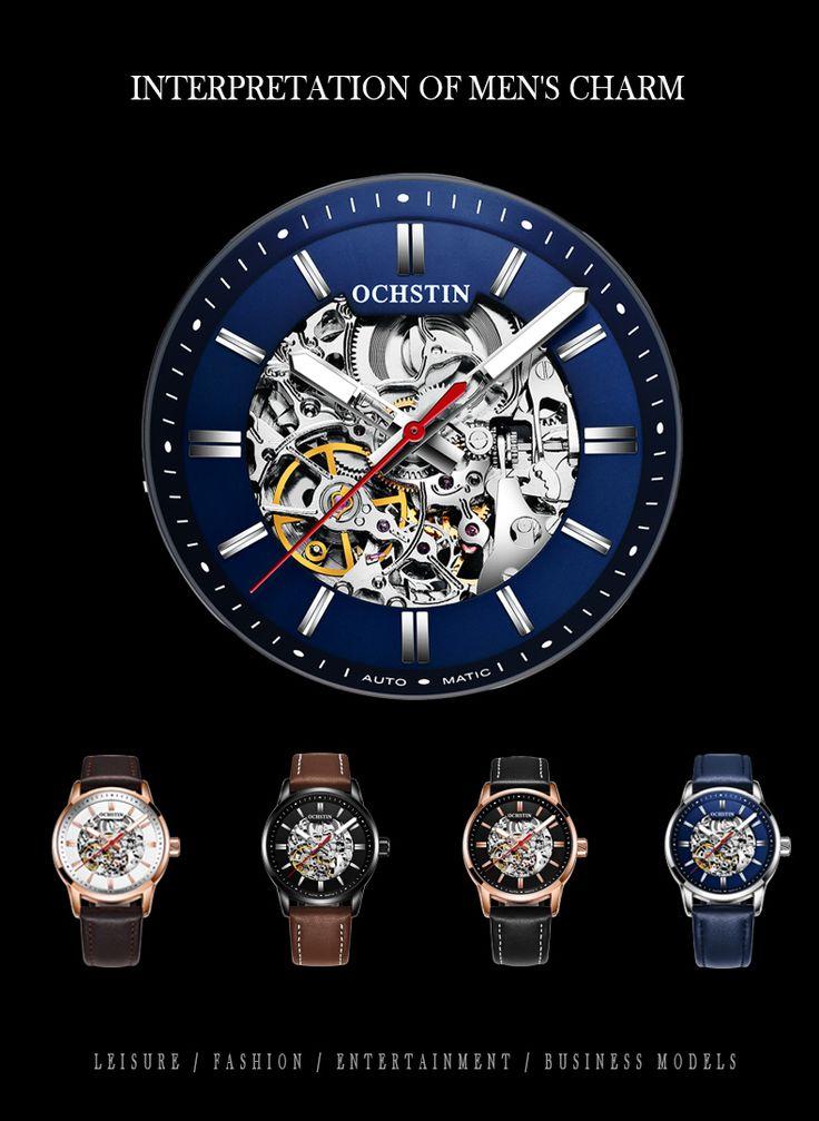 OCHSTIN 62001 Luminous Display Automatic Mechanical Watch