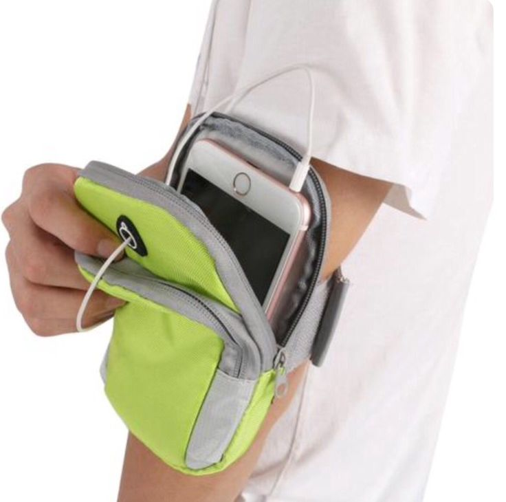 Unisex Running Bag Jogging Sport Phone Armband Gym Arm Band Case Cover for iPhone 6/6 Plus >> www.avalaurene.com