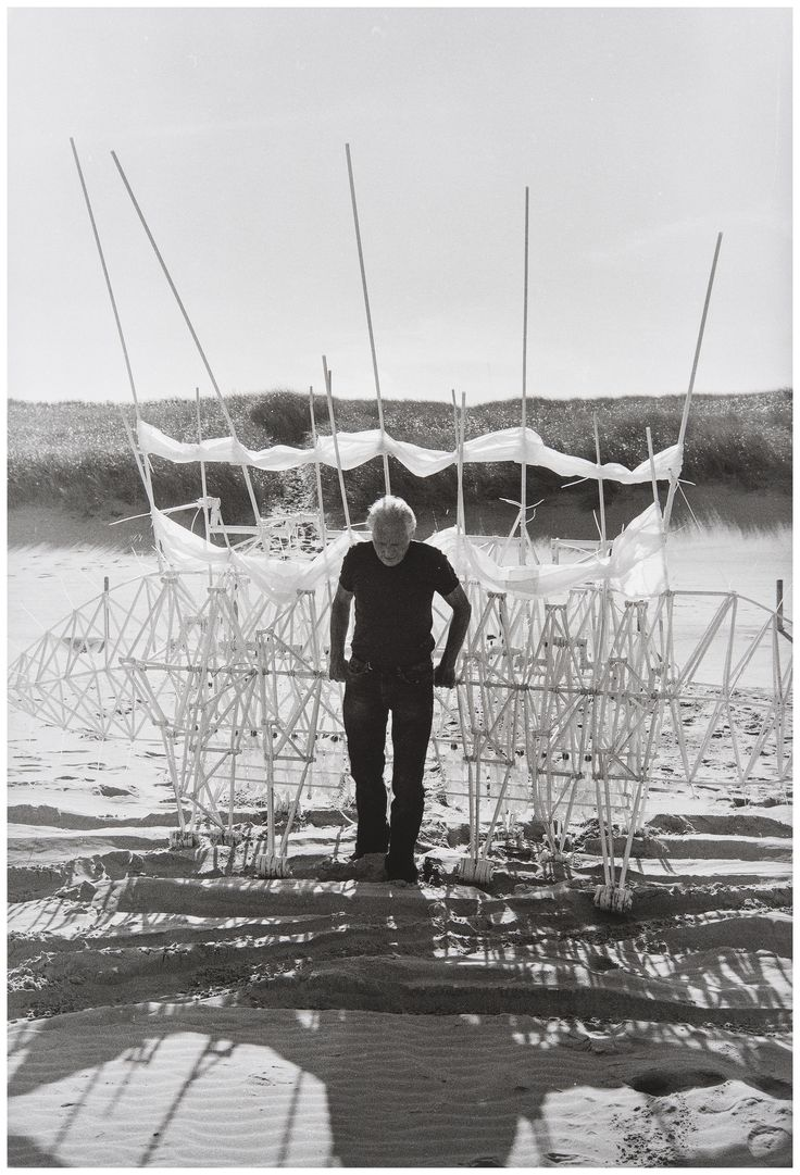 Straight from the imagination, powered by wind. Catch the only West Coast showing of Strandbeest: The Dream Machines of Theo Jansen: http://explo.me/4mV6Dj. Photo by Lena Herzog