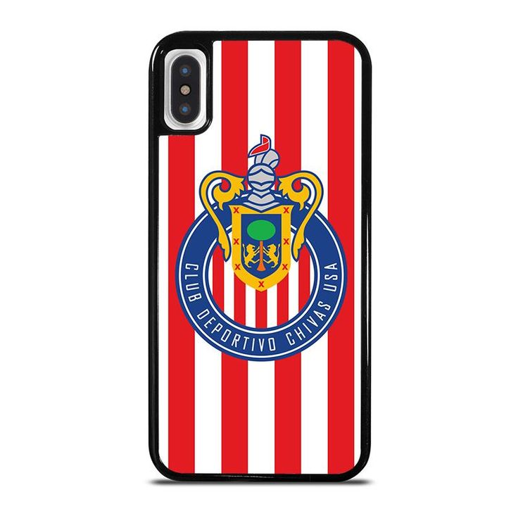 CLUB DEPORTIVO CHIVAS iPhone X Case - Best Custom Phone Cover Cool Personalized Design – Favocase