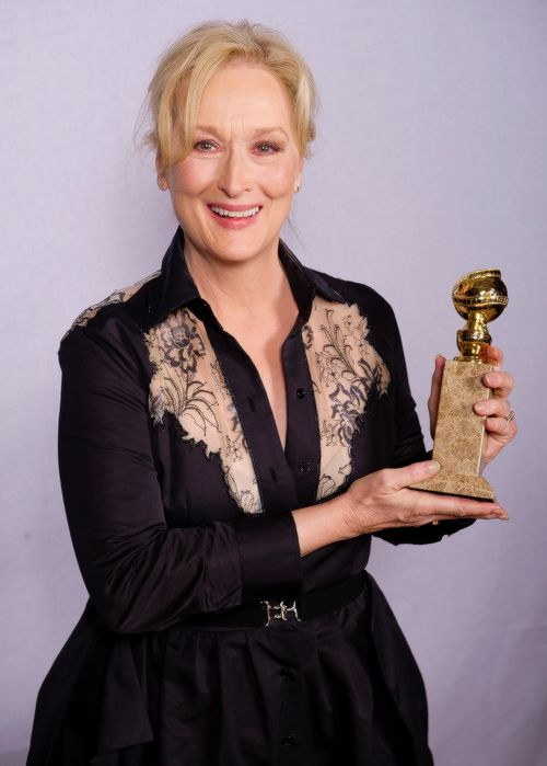 "meryl-streep: "" The HFPA will honor Meryl Streep with the Cecil B. DeMille Award at the 74th Annual Golden Globe Awards on Jan 8! """