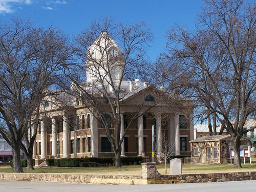 Mason, Texas where all my mom's side of the family is from and where memories are abundant!