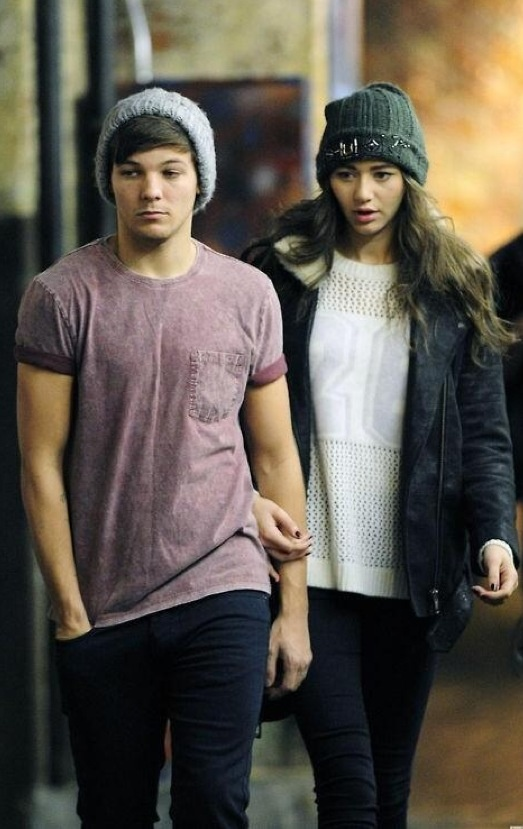 I have a thing for Louis and Eleanor. Can't get over how beautiful they are together.@Eleanor Smith Calder
