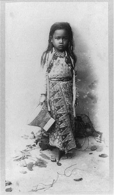 Javanese (Indonesian) girl, 1890-1910