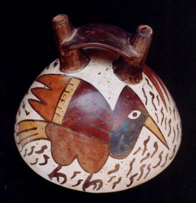 Nasca pottery | precolumbian art | Pinterest | Pottery ...