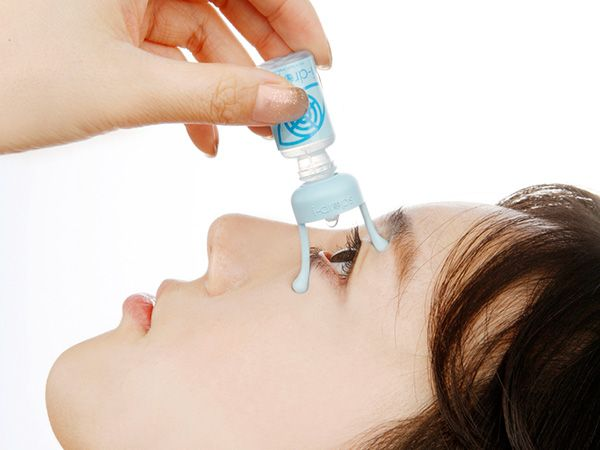 i-drop – Eye Dropper Design that makes it much easier to administer eye drops. #medical #eye #YankoDesign