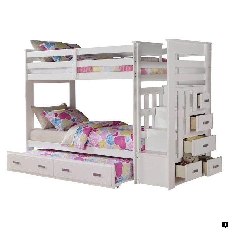 Discover More About Modern White Bunk Bed Please Click Here To
