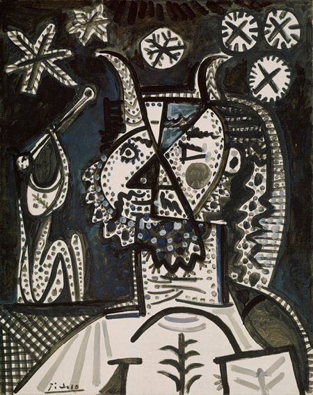 Picasso - Faun and Starry Night, 1955. | Satyrs, Fauns ...