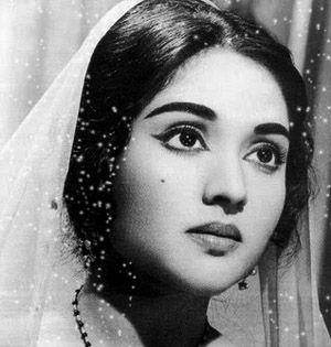 Vyjayanthimala Bali (born 13 August 1936),[1] also known by the mononym Vyjayanthimala, is an Indian film actress, she is one of the most prominent actresses of the golden era ; Bharathanatyam dancer, Carnatic singer, dance choreographer, golfer and Parliamentarian. http://en.wikipedia.org/wiki/Vyjayanthimala