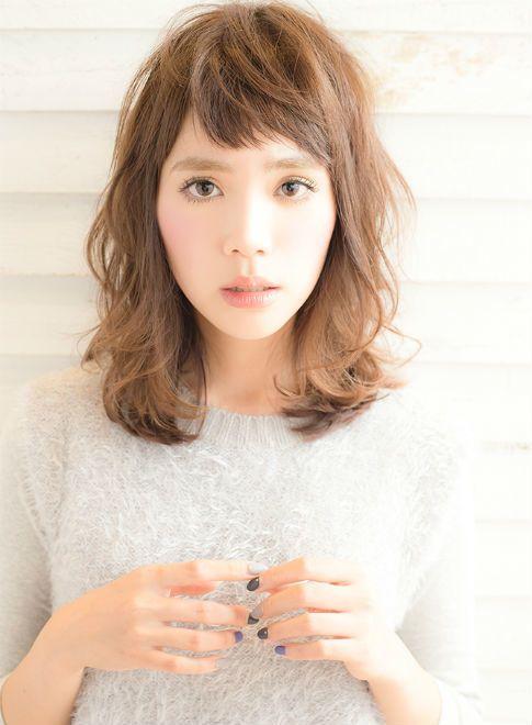 梨花風カジュアルレイヤー 【drive for garden】 http://beautynavi.woman.excite.co.jp/salon/21107?pint ≪ #mediumhair #mediumstyle #mediumhairstyle #hairstyle・ミディアム・ヘアスタイル・髪形・髪型≫