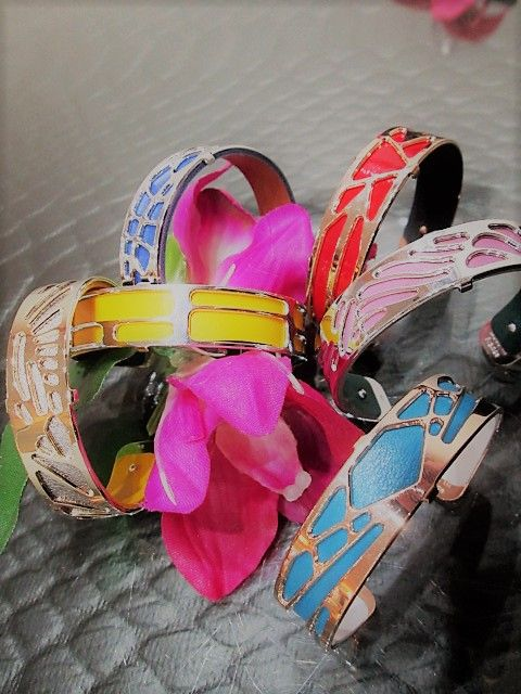 Les Georgettes Bangles! Perfect for summer