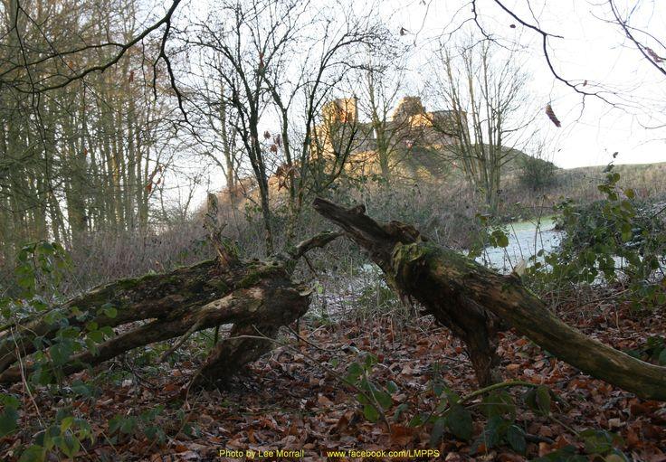 Stafford Castle, Staffordshire, England.