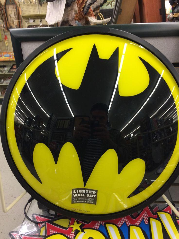 Batman Wall Light Decor : Pinterest The world s catalog of ideas