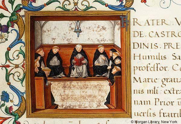 Litterae ducales donationis ad monasterium Sanctae Mariae Gratiarum, MS M.434 fol. 9r - Images from Medieval and Renaissance Manuscripts - The Morgan Library & Museum