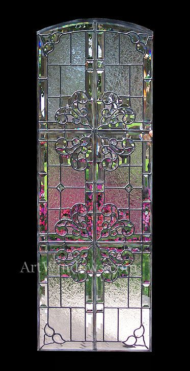 Glas-in-loodraam/-deur