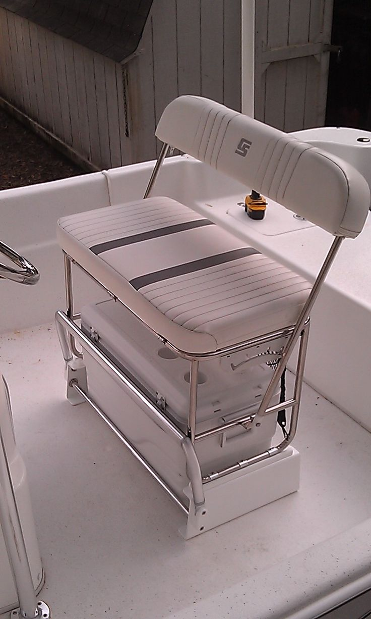 Carolina Skiff Cooler Seat Kit For Stainless Swingback