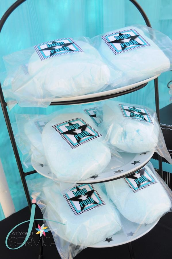 Baby Shower Favors: Shower Ideas, Cotton Candy, Baby Shower Favors, Bye Baby, Boys Rocks, Parties Ideas, Baby Boys Shower, Boys Baby, Baby Shower