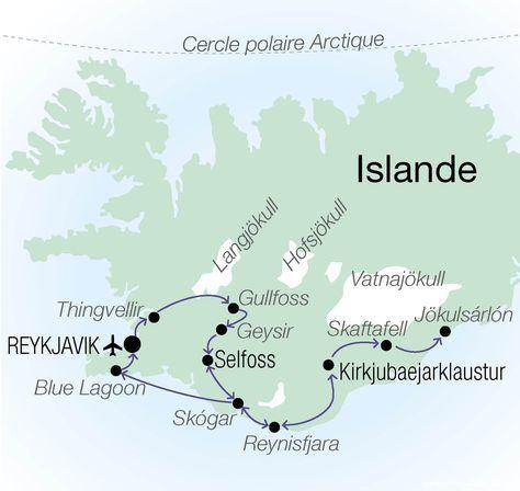 Circuit accompagné Aurores Boreales et Blue Lagoon voyages Islande