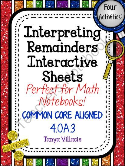 17 Best ideas about Remainders on Pinterest | Long division ...