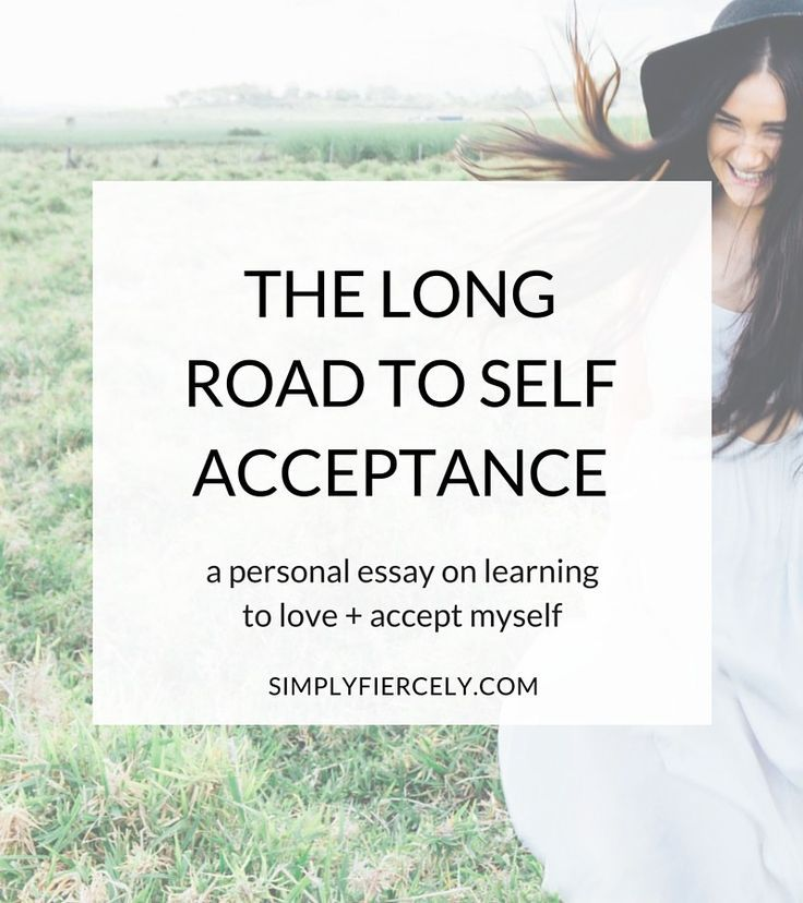 essay about self acceptance A self-reflective essay is a brief paper where you describe an experience and how it has changed you or helped you to grow self-reflective essays often require students to reflect on their academic growth from specific projects or assignments, though others might require you to think about the impact of a specific.