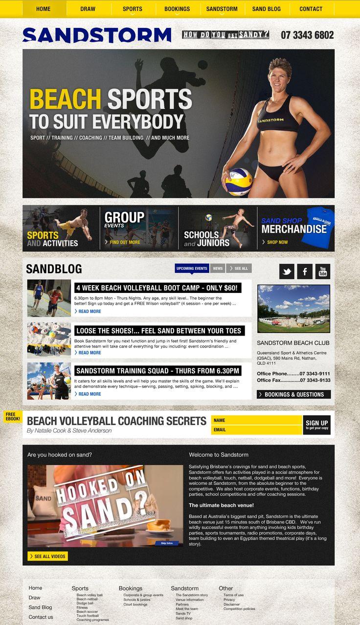 Sandstorme concept design