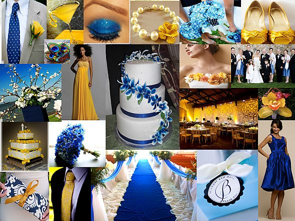 275 best Wedding - Royal Blue and Yellow images on Pinterest ...