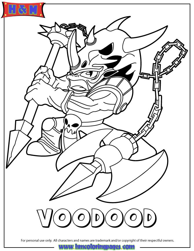 Eye brawl coloring pages coloring page for Skylanders giants coloring pages eye brawl