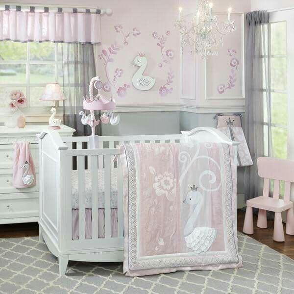 Baby Girl Room | Swan