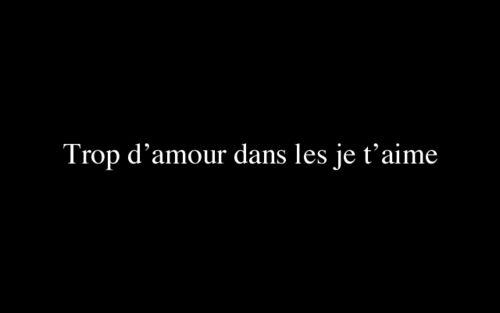 it-means-love:  Damien Saez, Aux Encres des Amours
