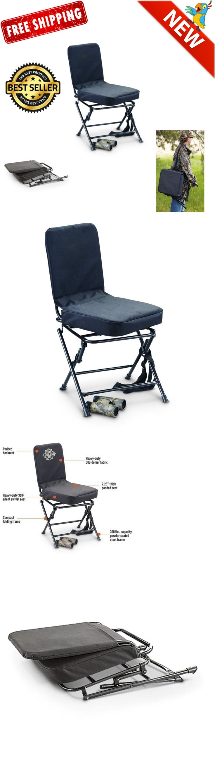 Seats and Chairs Swivel Blind Stool Hunting Chair