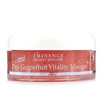 Pink Grapefruit Vitality Masque (Normal to Dry Skin) by Eminence - 14020023301 by Eminence Organic Skin Care. $42.93. A lifting & revitalizing mask. A lifting & revitalizing mask Formulated with antioxidant Grapefruit, rich in vitamin C Blended with Mandarin to eliminate skin impurities Loaded with Honey to deliver superior moisture Unveils a firmer, smoother, more vigorous & younger looking complexion Perfect for normal to dry skin