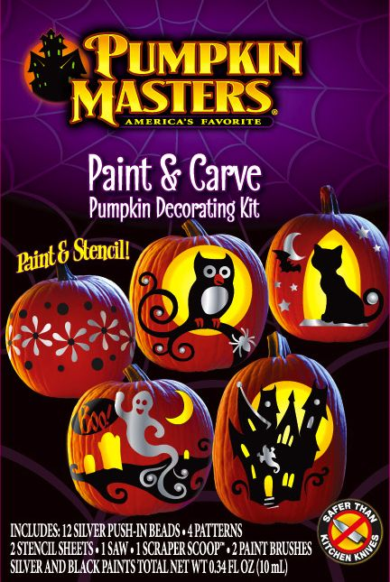 combine pumpkin carving painting to get the ultimate halloween decoration the end result will