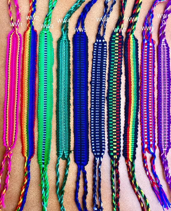 c7e58f44634 Friendship Bracelets-Cotton Bracelet-Party Favors-Handmade Bracelet- Wristband- Boho Jewelry-Surfer Bracelet-Macrame Bracelet-Woven Bracelets