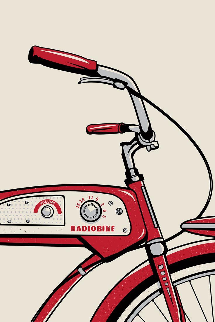 Jupiter Visual   Radiobike #fireflyhandmademarket