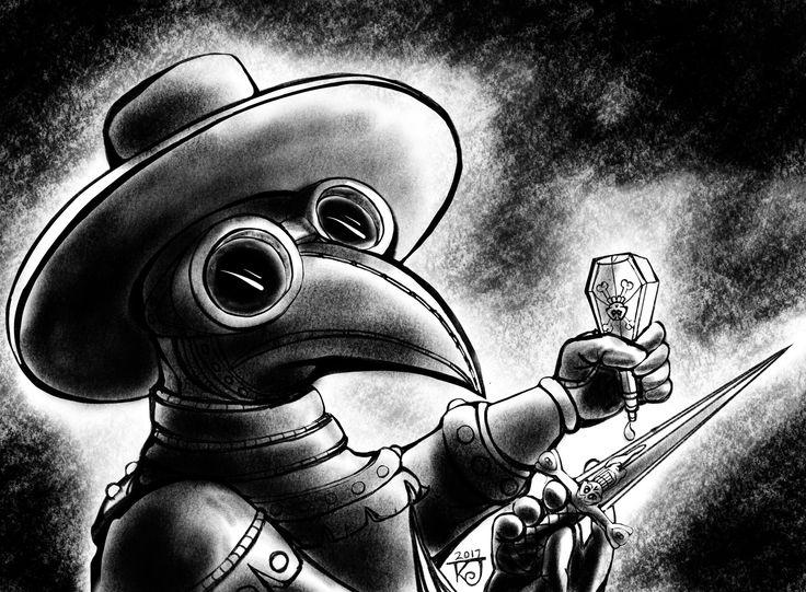 2017 digital illustration by Kevin 'Doodleworx' Jones.