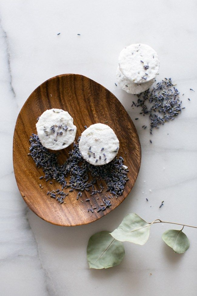 Lavender Bath Bombs for PMS