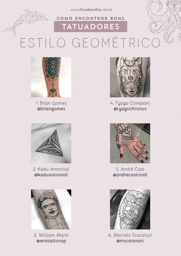 Como encontrar bons tatuadores: dicas e bons nomes pelo Brasil