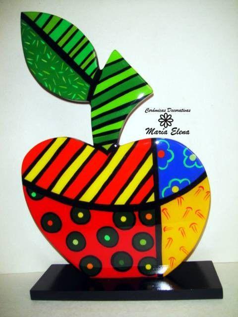 Manzana decorativa